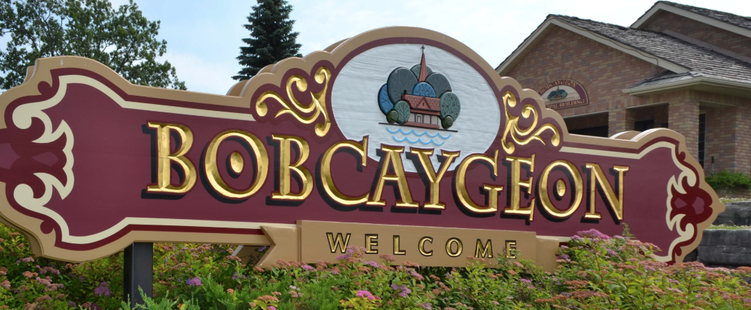Bobcaygeon Chamber sign