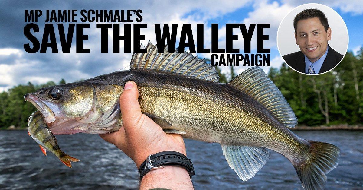 Jamie Schmale Save the Walleye Lindsay Ontario