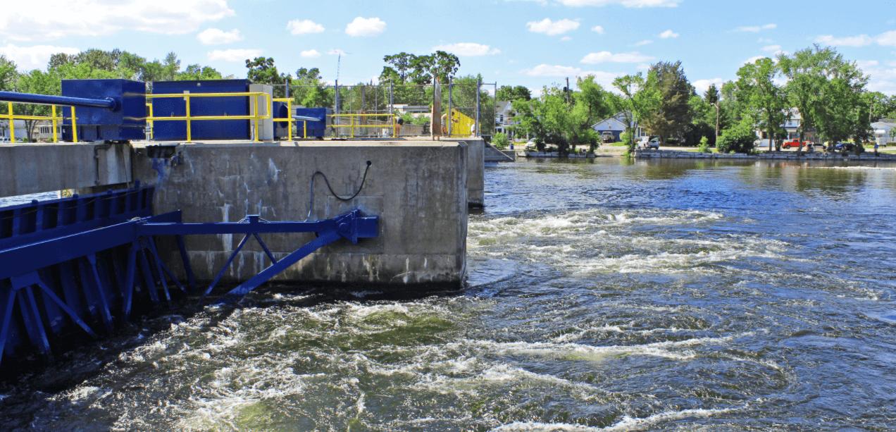 bobcaygeon hydraulic dam