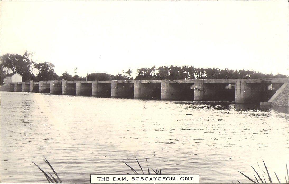 old bobcaygeon dam before hydraulics